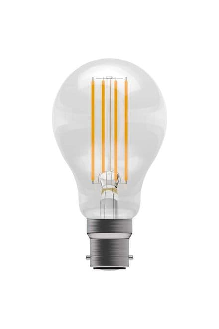 BELL 05302 6W LED Dimmable Filament GLS BC Clear 2700K